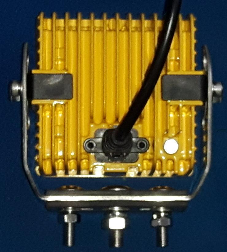 "Bild 4: CREE  LED,  45 Watt Arbeitsscheinwerfer  "" ACRI-XI "",  YELLOY Edition, incl. Kabelbaum, Trecker, Bagger, Lkw,"