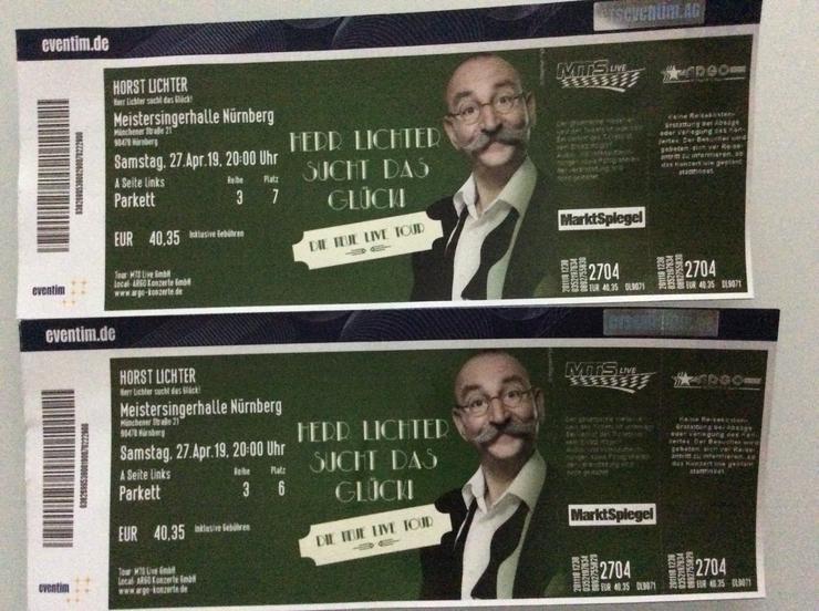 Tickets für Horst Lichter Show