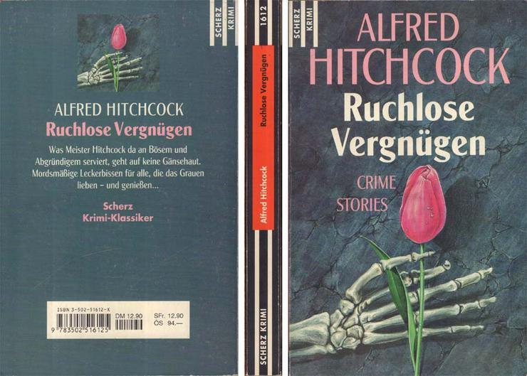 Taschenbuch - Ruchlose Vergnügen - Crime Stories von Alfred Hitchcock - 1997