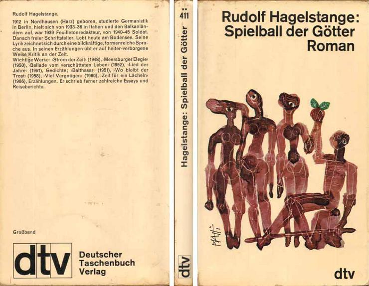 Taschenbuch - Spielball der Götter - ein Buch von Rudolf Hagelstange - 1967