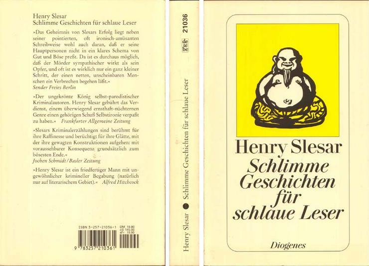 Taschenbuch von Henry Slesar - Schlimme Geschichten für schlaue Leser - 1982