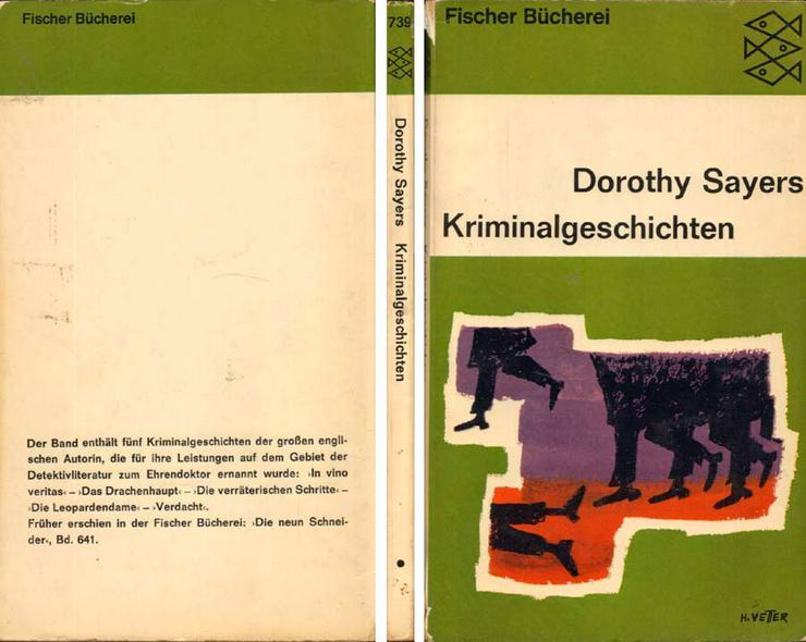 Taschenbuch von Dorothy Sayers - Kriminalgeschichten - 1966