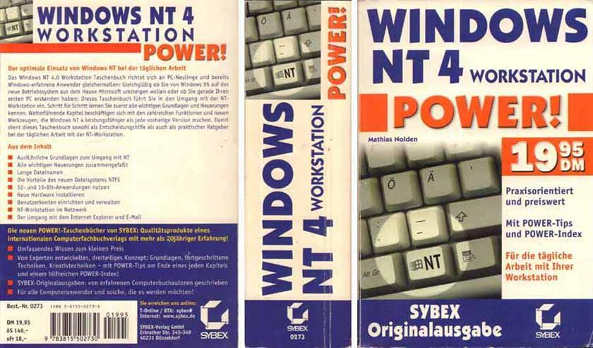Taschenbuch - Windows NT 4 Power - ein Buch von Mathias Nolden - 1999