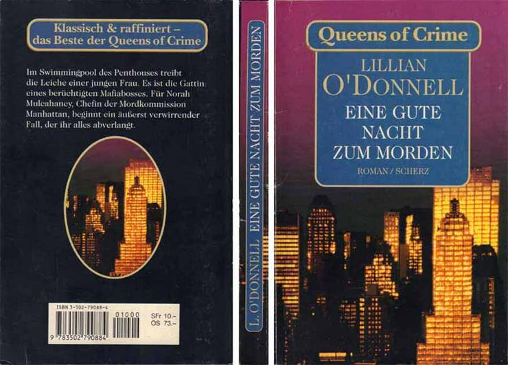 Taschenbuch - Eine gute Nacht zum Morgen - Roman von Lillian O'Donnell - 1998