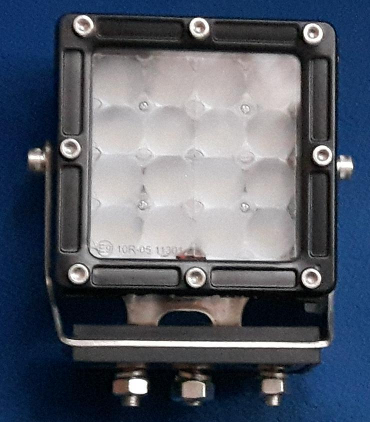 """Bild 3: CREE LED, 80 Watt Arbeitsscheinwerfer """" ACRI-XI """", incl. Kabelbaum, Trecker, Bagger, Lkw,"""