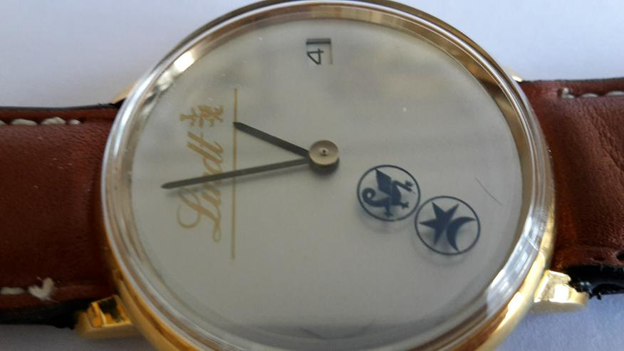 Bild 4: Lindt & Sprüngli Armbanduhr