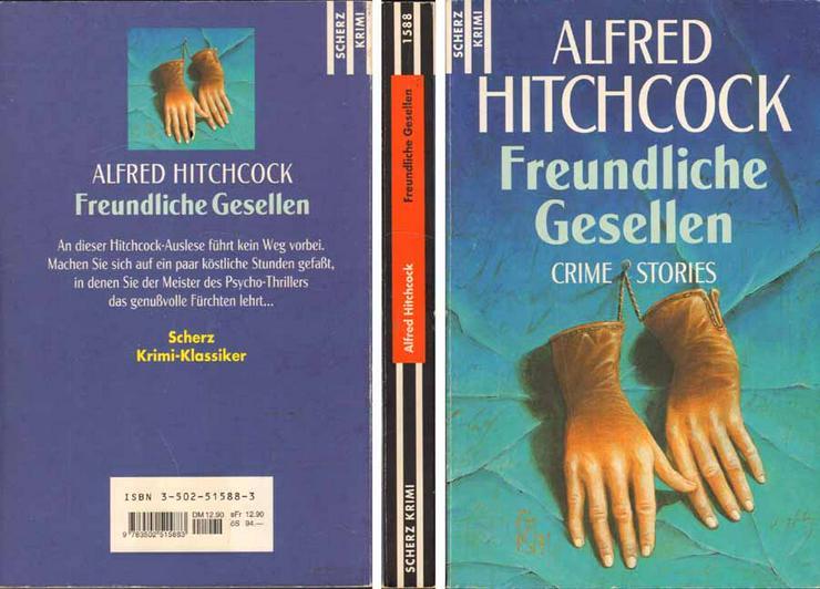 Taschenbuch - Freundliche Gesellen - Crime Stories von Alfred Hitchcock - 1997