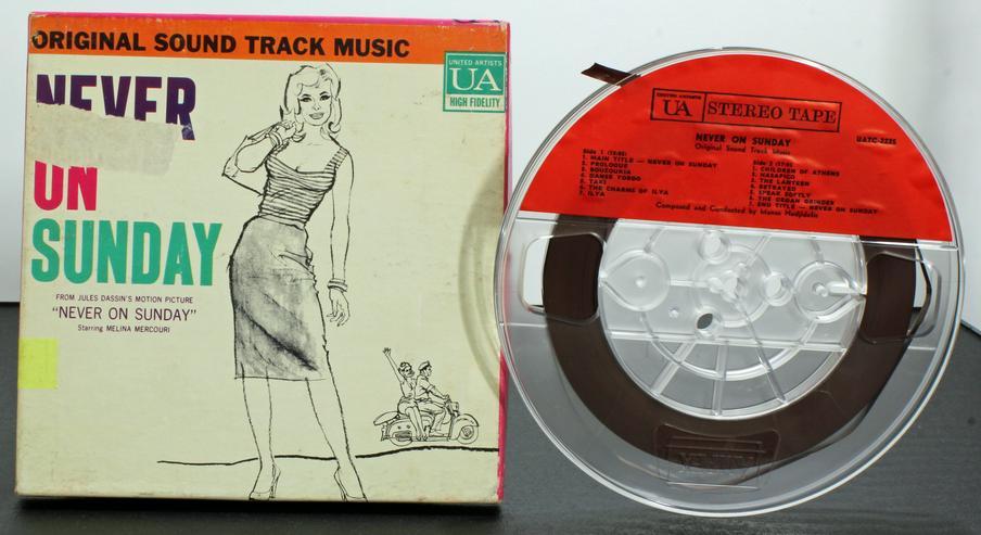 USA Musik Tonband: > NEVER ON SUNDAY - Original Soundtrack ! Plus DIGITAL !