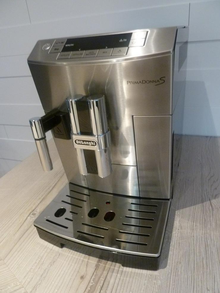Kaffevollautomat De Longhi, PrimaDonna S DeLuxe ECAM 26.455 1A!