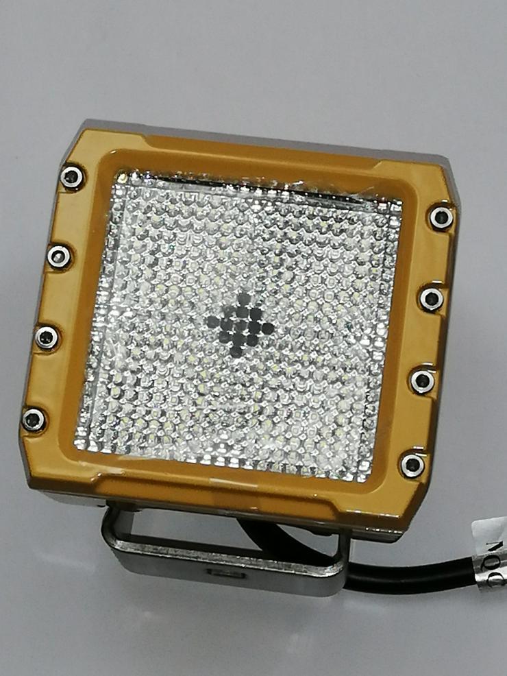 Bild 6: 2 x CREE LED , 40 Watt Arbeitsscheinwerfer GT Serie 40W / Yellow - Edition