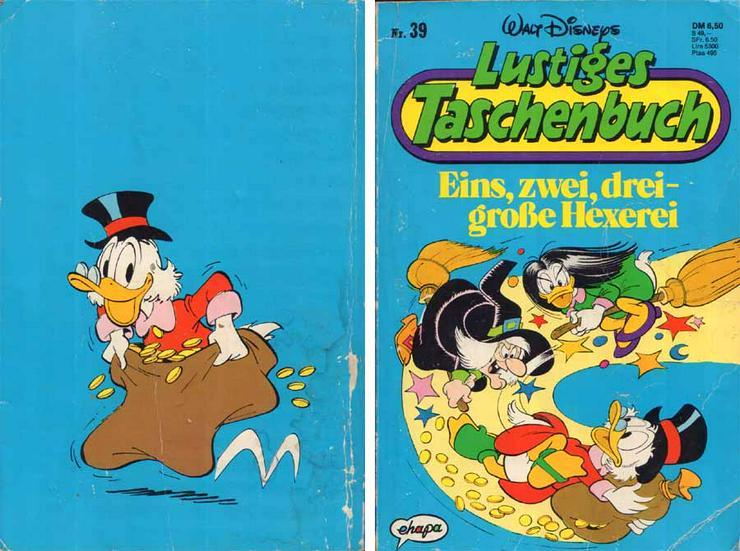 Walt Disneys lustiges Taschenbuch Nr. 39 - Eins, zwei, drei - große Hexerei