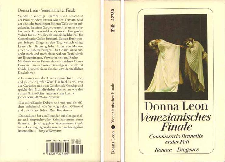 Venezianisches Finale von Donna Leon - Commissario Brunettis erster Fall - 1995