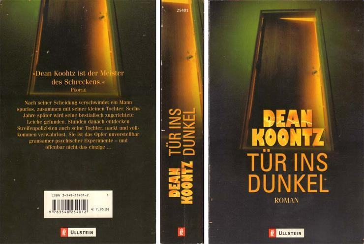 Taschenbuch - Dean R. Koontz - Tür ins Dunkel - 2002