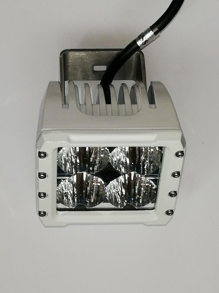 2 x CREE LED 40 WATT Bootsscheinwerfer GT - 40 SERIE, Weiss, Flood