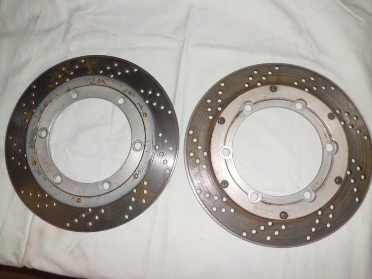 WiWo-Bremsscheiben für GPz 600 R