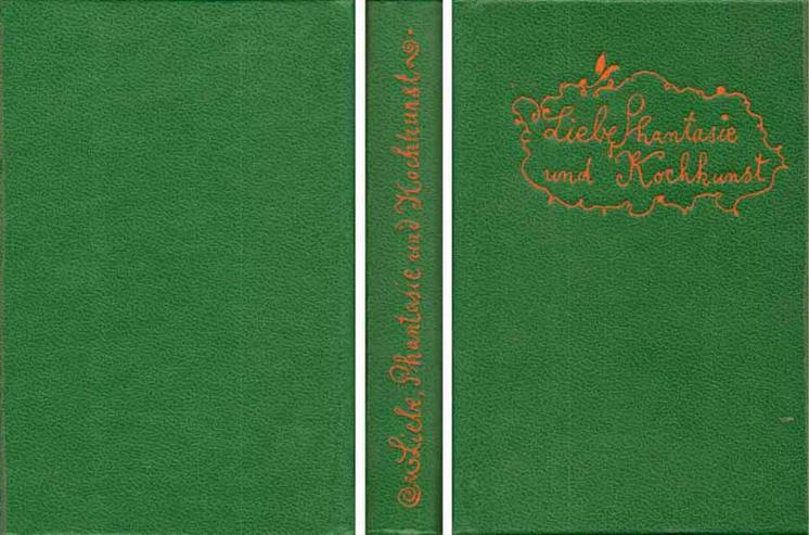 Minibuch in Papphülle - Liebe, Phantasie und Kochkunst - Ursula Winnington 1985 - Romane, Biografien, Sagen usw. - Bild 1