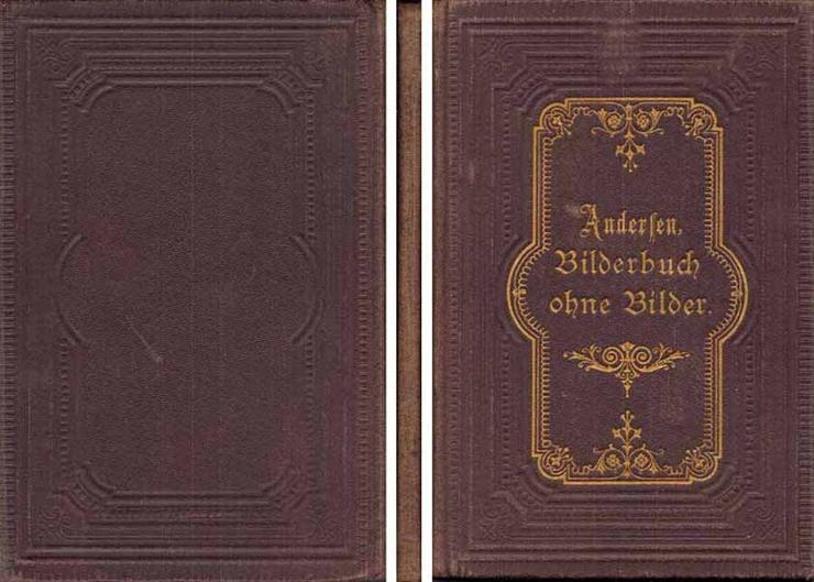 Bilderbuch ohne Bilder - ein Buch von H. C. Andersen - Deutsch von Edmund Zoller