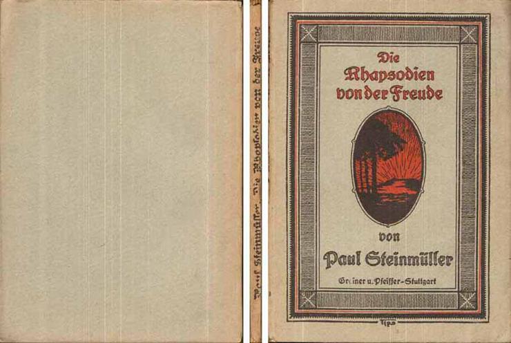 Buch von Paul Steinmüller - Die Rhapsodien von der Freude