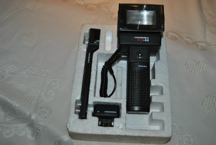 Hanimex PZ1 44 Computer-Stabblitzgerät Zoomreflektor