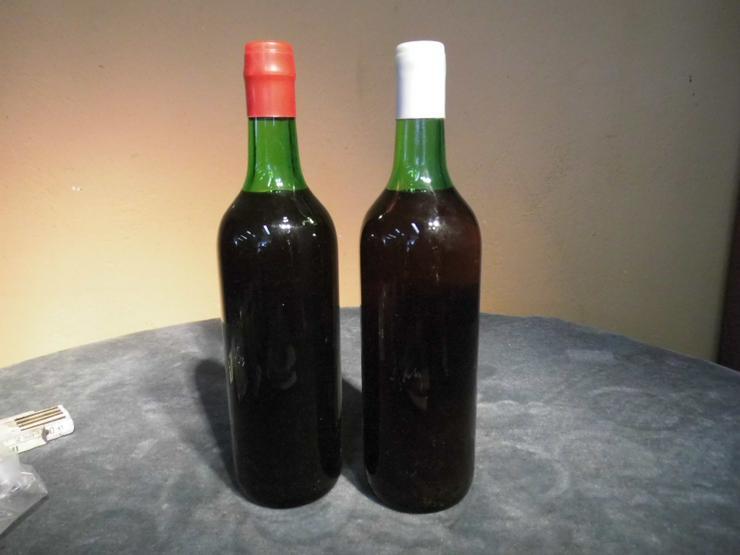 Bild 5: 2 Fl. bulgarischer Dessert - Wein TIRNOVO rot, für den Markt der DDR / Sammler