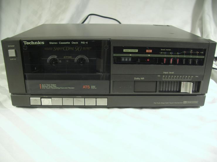 Technics RS-4 vintage midi Cassettendeck Funktion einwandfrei