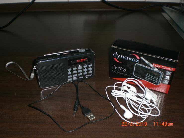 Bild 4: DYNAVOX FMP3 MP3-RADIO mit Akku Mini Radio Taschenradio MP3 FM