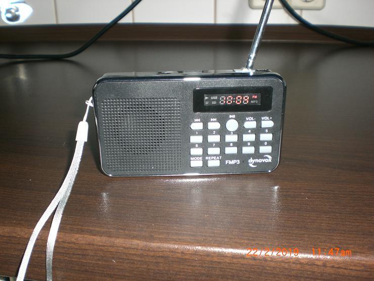 DYNAVOX FMP3 MP3-RADIO mit Akku Mini Radio Taschenradio MP3 FM  - MP3-Player & tragbare Player - Bild 1
