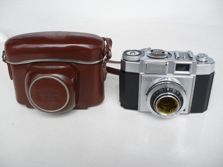 Zeiss Ikon, Typ Contina mit Original-Echtledertasche
