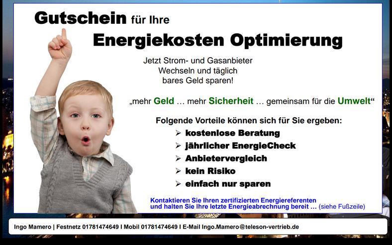 Wir optimieren Ihre Strom und Gaskosten. kostenlos und unverbindlich