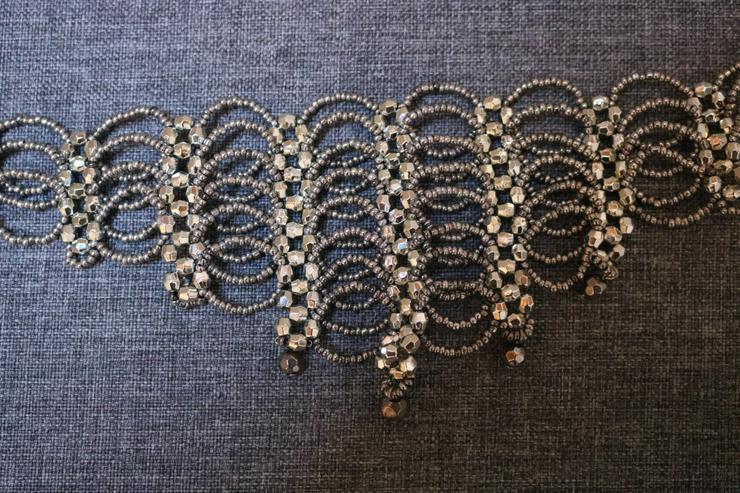 Bild 2: Halsband, silberfarben, Neu