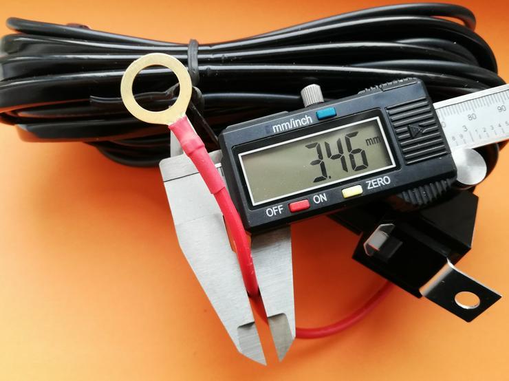 Bild 5: kabelsatz, 280 watt belastbar, 12 volt, 1 x Anschluss