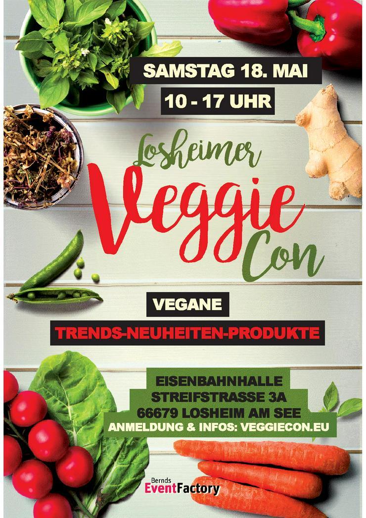 Losheimer *VeggieCon* am 18. 05. 2019 - Essen & Trinken - Bild 1