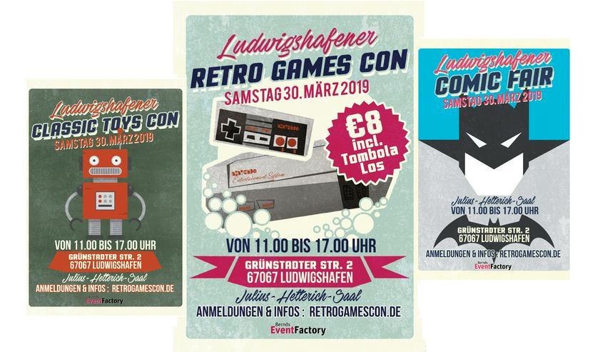 Ludwigshafener RetroGamesCon*ComicFair*ClassicToys* - Märkte & Messen - Bild 1
