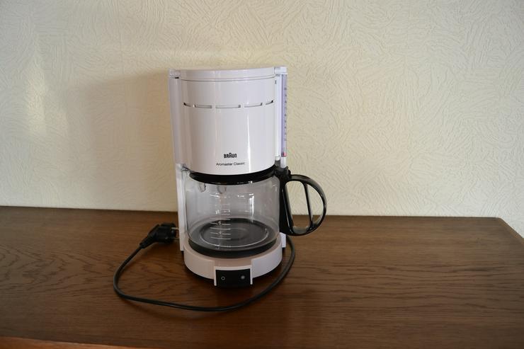 Kaffeemaschine von Braun
