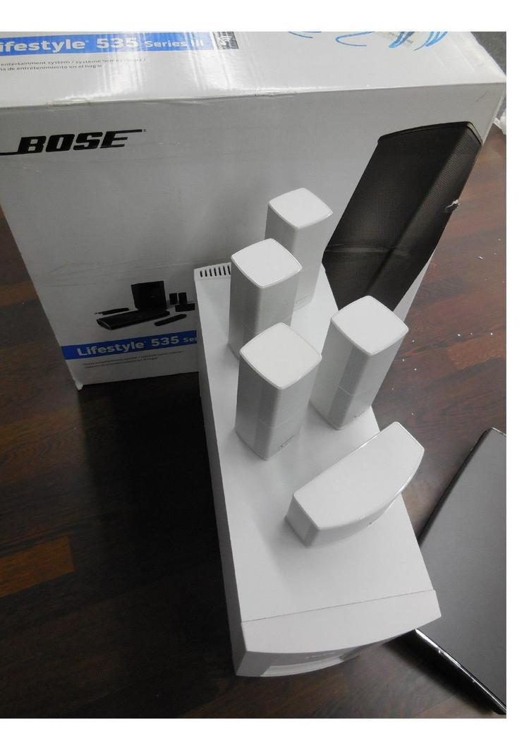 Bose LIFESTYLE 535 III. weiß. gebraucht.