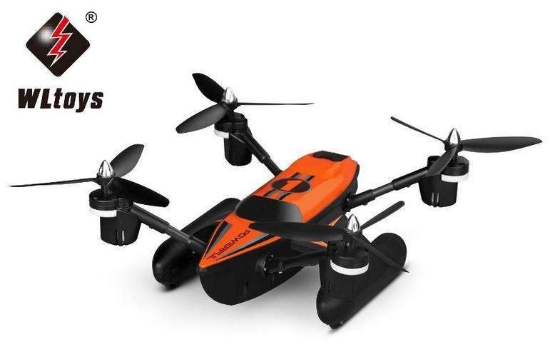 Bild 2: RC Quadrocopter - Triphibious Q353 - 2.4 Ghz UFO - 6 Achsen Gyro - Headless Modus