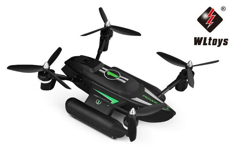 Bild 3: RC Quadrocopter - Triphibious Q353 - 2.4 Ghz UFO - 6 Achsen Gyro - Headless Modus