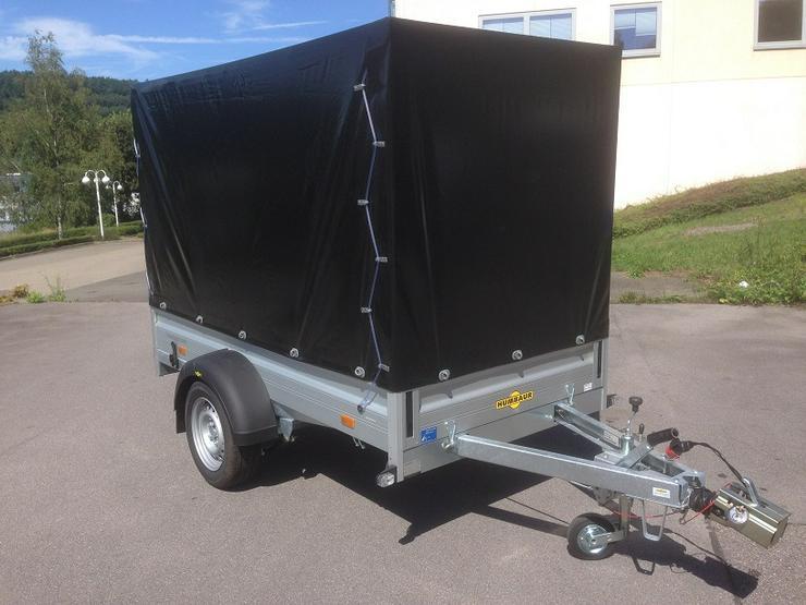 Humbaur Anhänger 1300 kg mit Hochplane, Stützrad und 100 km/h NEU