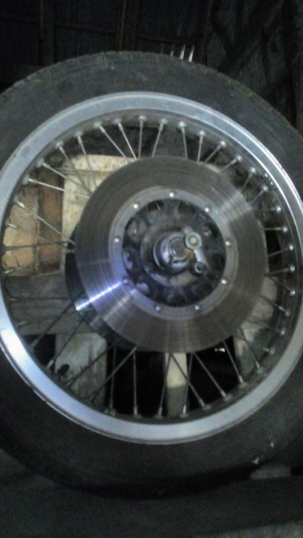 Honda GL 1 Vorderrad und Hinterrad
