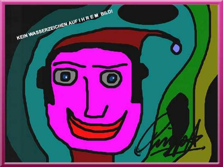 BEATLE RINGO STARR! Kunstwerk! Malerei! Clown! Souvenir! Hingucker! Cooles Geschenk! Mitbringsel! Wanddeko! Deko!