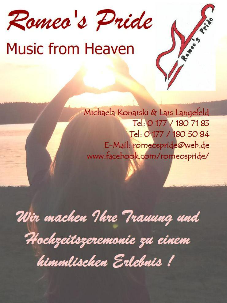 Trauungen mit himmlischer Musik: Wir machen Ihre Hochzeitszeremonie zu einem himmlischen Erlebnis