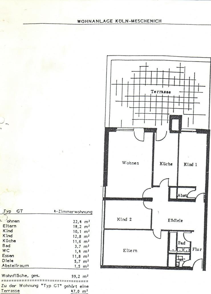 Bild 3: Schöne Eigentumswohnung mit großer Dachterrasse