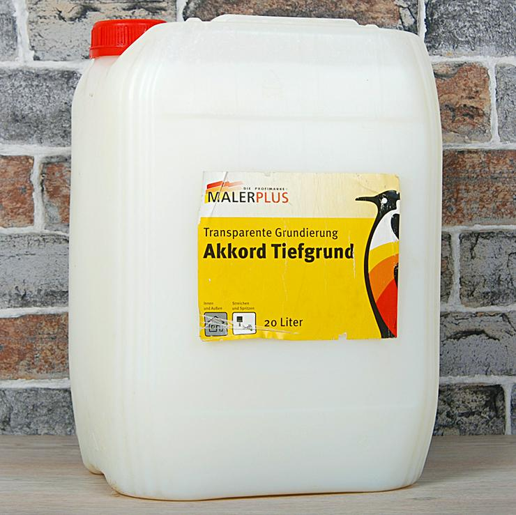 Malerplus Akkord Tiefgrund, 20 L Kanister, neu