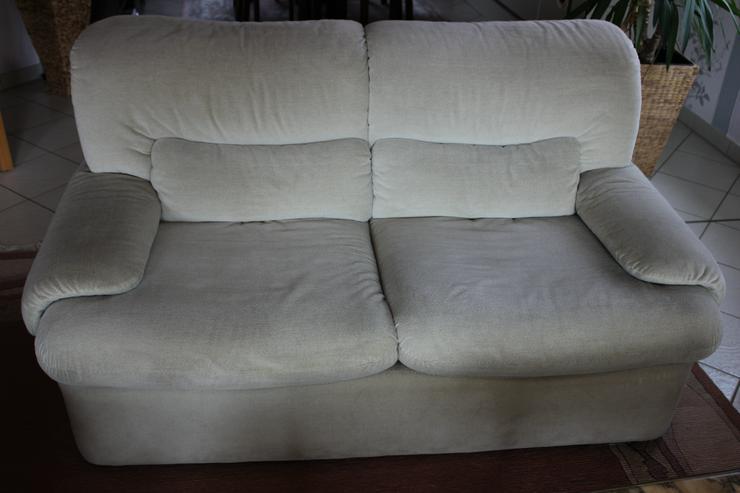 Couchgarnitur sofa 3er 2er sessel in lengede for Sofa 2er 3er