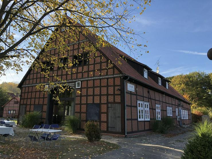Modernisiertes Fachwerkanwesen mit zwei Wohnhäusern im Rundlingsdorf Lübeln / Wendland