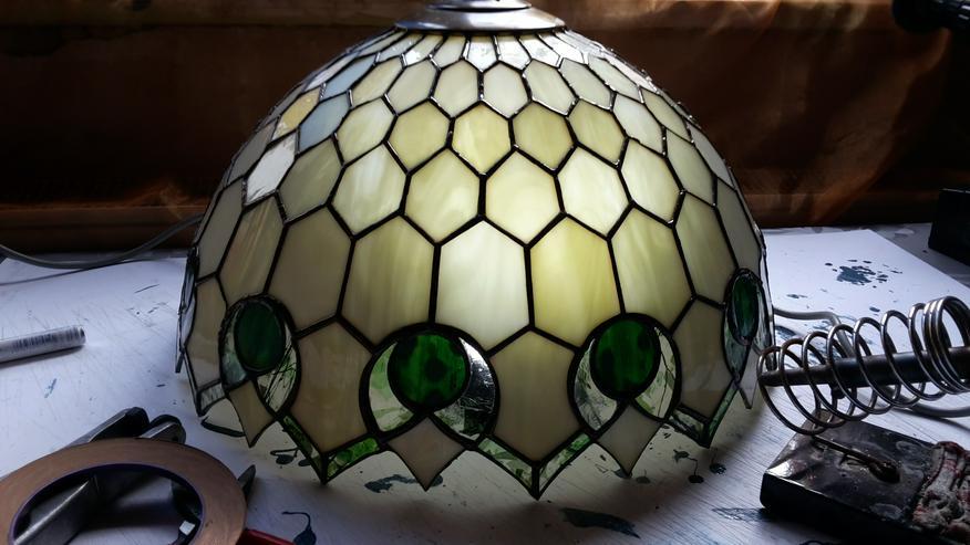 Bild 4: Tiffany Lampen Reparatur Klinik Nrw in Fürstenfeldbruck & ART GLASS GALLERY Mülheim