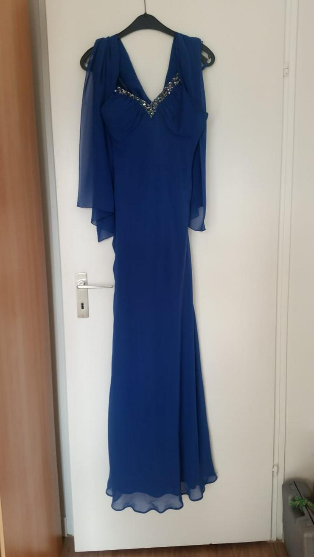 Abendkleid Royalblau