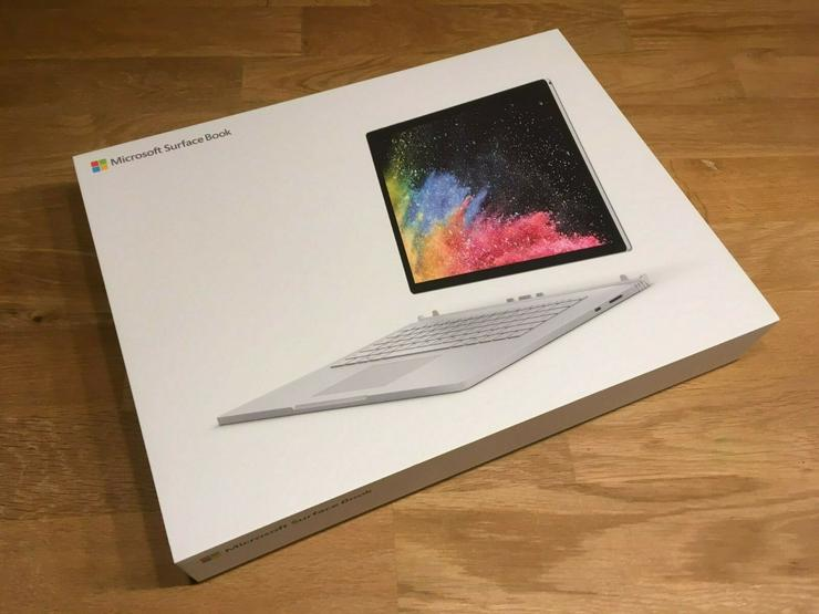 "Microsoft Surface Book 2 15"" -512 GB - i7 - Surface Precision Mouse - Notebooks & Netbooks - Bild 1"