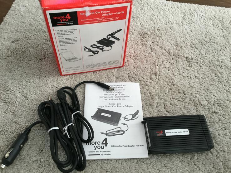 REDUZIERT - more4you Notebook Car Power Adapter