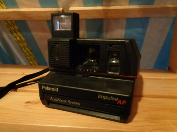 Sofortbildkamera Polaroid Kamera Impuls AF Auto Focus System - Analoge Kompaktkameras - Bild 1